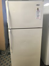 Whirlpool White 14 cf Refrigerator - USED in Tacoma, Washington