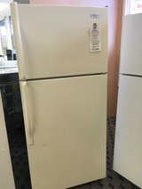 Whirlpool Bisque 14 cf Refrigerator - USED in Tacoma, Washington