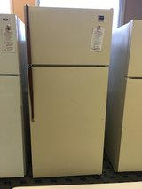 Whirlpool Bisque 14 cf Refrigerator - USED in Fort Lewis, Washington