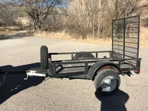 4X7 Trailer with ramp gate in Alamogordo, New Mexico