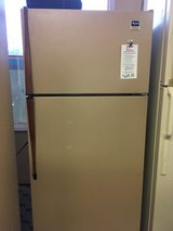 Whirlpool Brown 14 cf Refrigerator - USED in Tacoma, Washington
