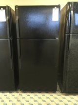 GE Black 18 cf Refrigerator - USED in Tacoma, Washington