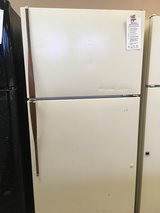 Hotpoint Bisque 18 cf Refrigerator - USED in Tacoma, Washington
