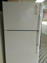 GE White 22 cf Refrigerator - USED in Tacoma, Washington