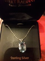 Sterling Silver & Blue Topaz necklace & Pendant in Travis AFB, California
