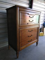 Super solid wood dresser with 5 huge drawers in Fort Bliss, Texas