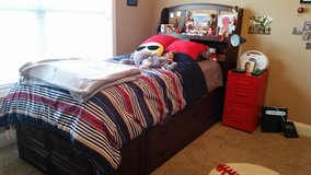 Twin bed with dressers in Warner Robins, Georgia