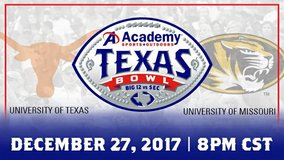 (5) Texas Bowl - UT vs Missouri 2nd Row/Aisle/Lowers Tix - Dec. 27 - Call Now! in Baytown, Texas