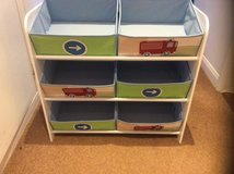 REDUCED BOYS 6 CANVAS STORAGE UNIT in Lakenheath, UK