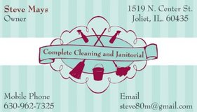 Complete Cleaning and Janitorial   Family Owned and Operated in Joliet, Illinois
