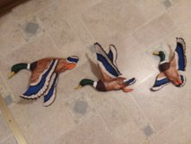 3 piece ceramic flying ducks nice  gift for a hunter in Camp Lejeune, North Carolina