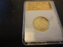 2007 d WA statehood quarter interested text 931 218 8243 in Clarksville, Tennessee