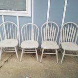 4 oak chairs in Naperville, Illinois