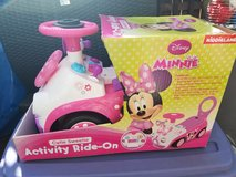Mini mouse push car in Glendale Heights, Illinois