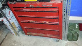 Craftsman tool chest (read) in Grafenwoehr, GE