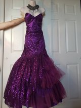 Sequenced Full Gown Evening Dress XL in Baumholder, GE