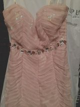 Peachy Gown Evening Dress Adrianna Papell XS in Baumholder, GE