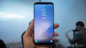 unlocked Samsung Galaxy S8 Plus midnight black in bookoo, US