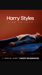 2 Tickets to Harry Styles Concert in Lockport, Illinois