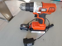 Black and Decker Cordless Drill and Charger in Stuttgart, GE