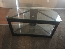 glass tv stand in Clarksville, Tennessee