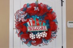 Christmas wreaths in Clarksville, Tennessee
