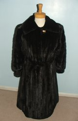 Mink Fur Coat Full-Length Belted by Yves Saint Laurent in Bolingbrook, Illinois