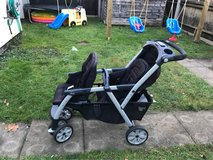 Chicco Cortina double stroller in Lakenheath, UK
