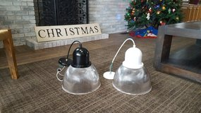 six FARMHOUSE pendant lights (6) in Naperville, Illinois