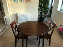 Round Wooden Dining Table in Lakenheath, UK