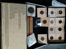 Starter coin set in black metal lockable box. in Lake Charles, Louisiana