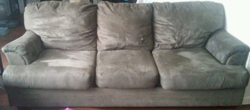 grey microfiber couch in Clarksville, Tennessee