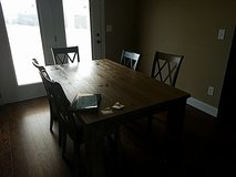 Ashley table + 5 chairs in Clarksville, Tennessee