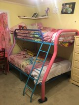 Bunk beds in Fort Campbell, Kentucky