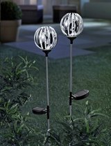 Set of 2 Solar Medal Balls in Ramstein, Germany