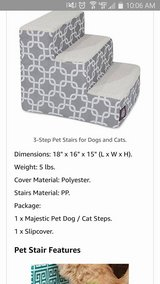 Majestic pet 3 step pet stairs in Naperville, Illinois