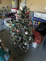 x mass tree + skirt in Fort Campbell, Kentucky