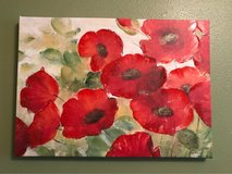 canvas floral wall hanging in Kingwood, Texas