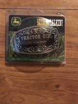 John Deere Tractor Girl Belt Buckle in Fort Knox, Kentucky