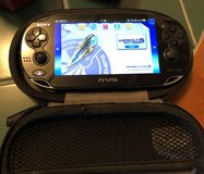 PlayStation Vita with WiFi 4 Games and 2 Cases in Camp Lejeune, North Carolina