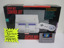 Super Nintendo in box with game in Brookfield, Wisconsin