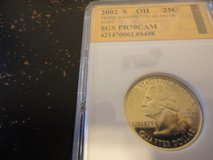 2002 s OH statehood quarter interested text 931 218 8243 in Fort Campbell, Kentucky