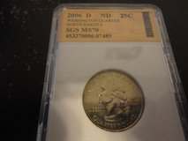 2006 d ND statehood quarter interested text 931 218 8243 in Fort Campbell, Kentucky