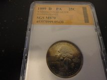 1999 d PA statehood quarter interested text 931 218 8243 in Fort Campbell, Kentucky