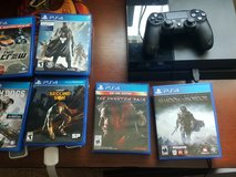 PS4 with 10 games in Camp Pendleton, California
