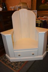 Corner Hall Throne hand made in Lakenheath, UK