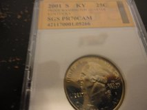 2001 s KY statehood quarter interested text 931 218 8243 in Fort Campbell, Kentucky