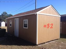 12x24 Tiny Home Office Storage Building Shed WIRED!! in Valdosta, Georgia