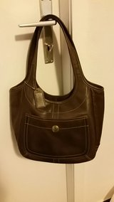 Coach Brown Leather Purse Handbag in Ramstein, Germany