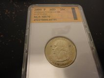 2000 p MD statehood quarter interested text 931 218 8243 in Fort Campbell, Kentucky